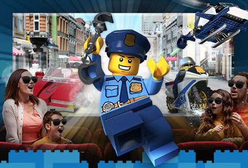 Legoland Florida Resort Opening Lego City 4d Officer In Pursuit