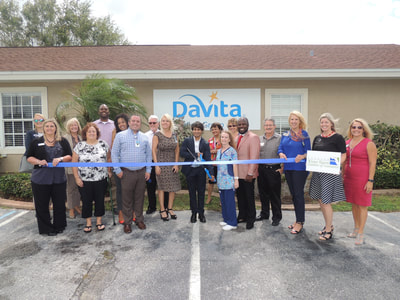 DaVita ribbon cutting