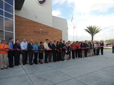 Polk State ribbon cutting