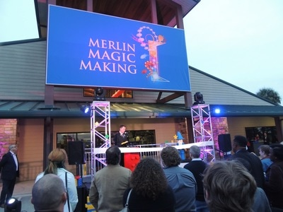 Merlin ribbon cutting