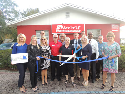 Direct Insurance ribbon cutting