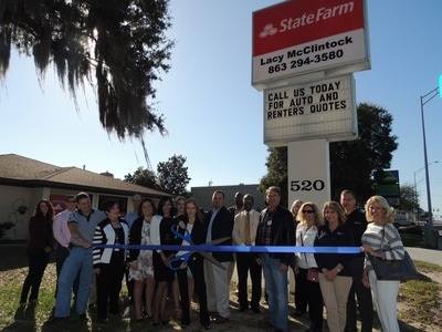 State Farm ribbon cutting