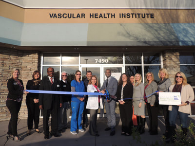 Vascular Health ribbon cutting