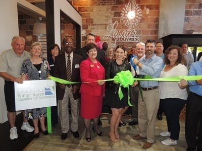 Lasater ribbon cutting