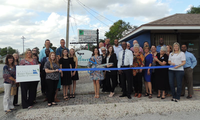 Spa Haven ribbon cutting