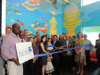 Bright Smiles ribbon cutting