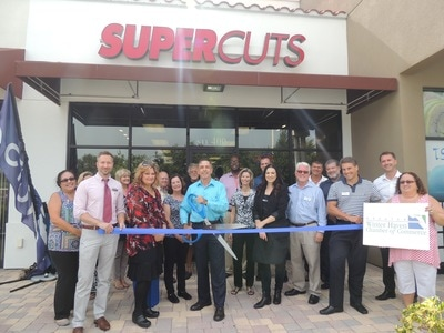 Super Cuts Ribbon Cutting