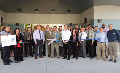 Bond clinic ribbon cutting