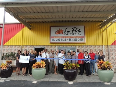 La Flor Ribbon Cutting