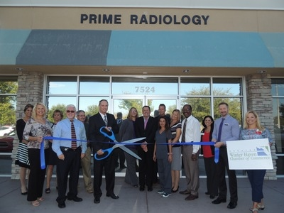 Prime Radiology Ribbon Cutting