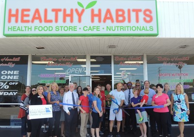 Healthy Habits ribbon cutting