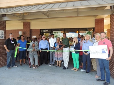 Picture of Subway Ribbon Cutting