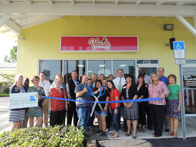 Pelican's ribbon cutting