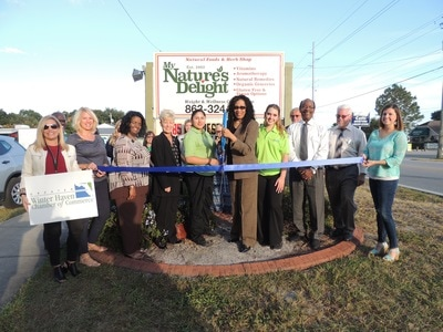 Picture of Nature's Delight Ribbon Cutting
