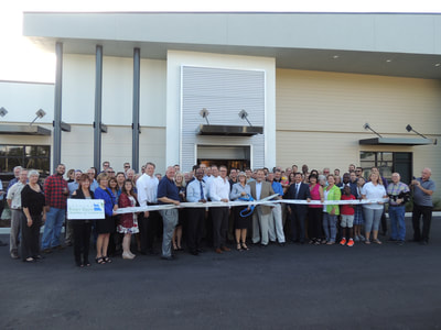 Pennoni Ribbon cutting