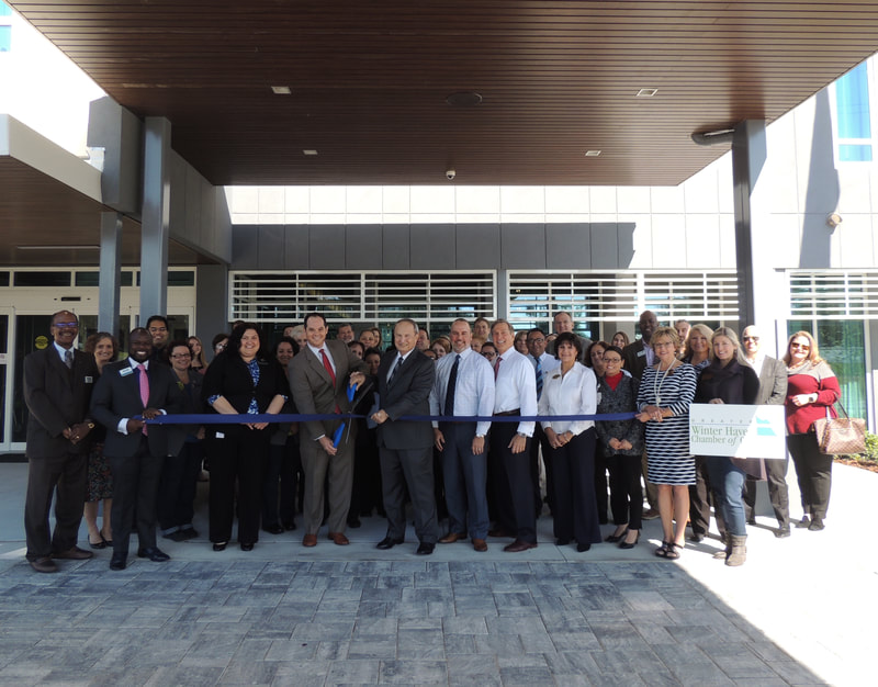 Courtyard Marriott Winter Haven ribbon cutting