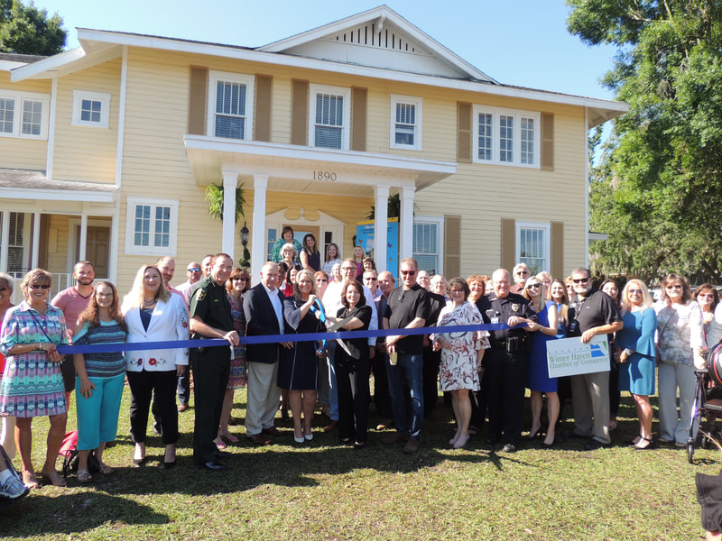 House of Hope ribbon cutting