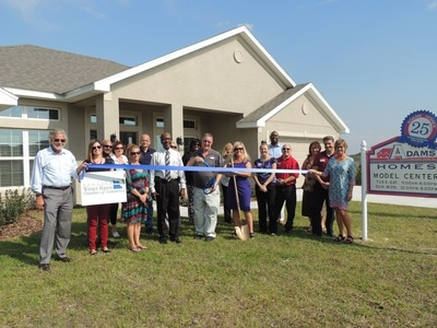 Adams Homes Ribbon Cutting