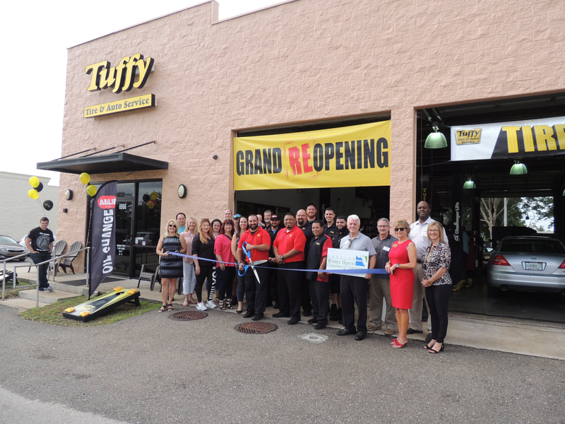 Tuffy ribbon cutting