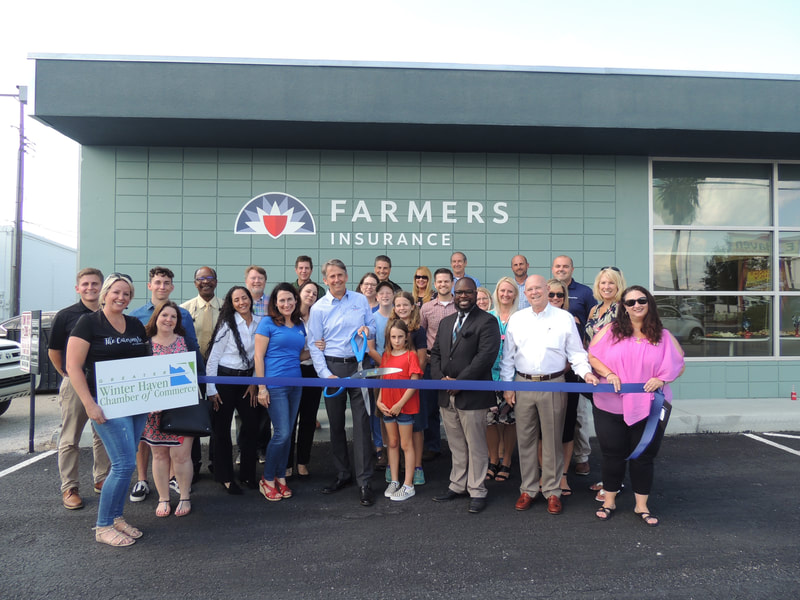 Farmers Insurance ribbon cutting