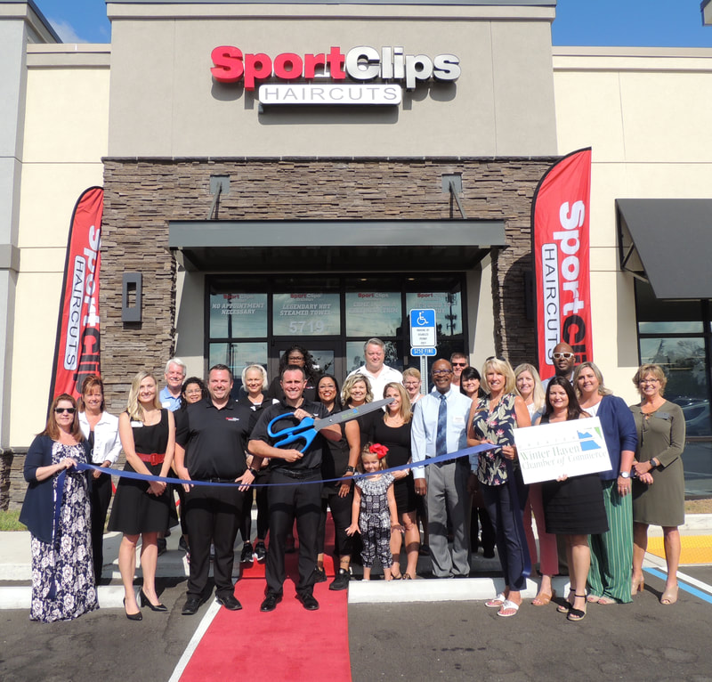 Sports Clips ribbon cutting