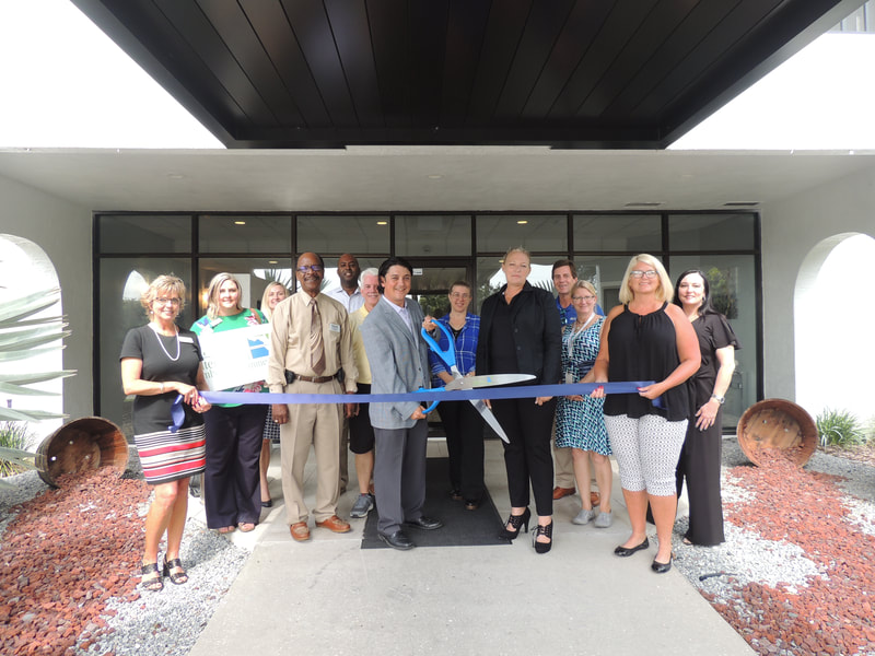 Lake Shore ribbon cutting