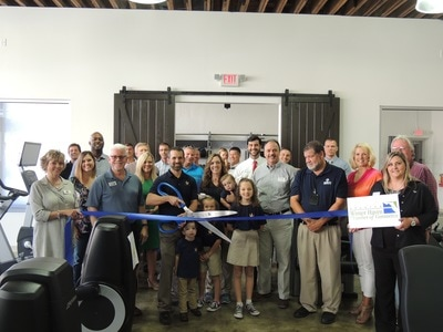 Honor Gym ribbon cutting