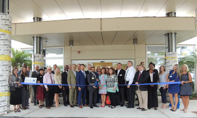 Winter Haven Hospital ribbon cutting
