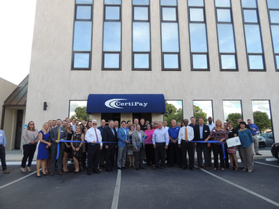 CertiPay ribbon cutting
