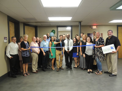 Chastain Ribbon cutting