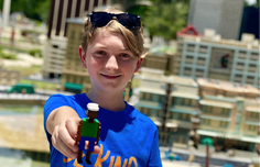 Picture of boy at Legoland