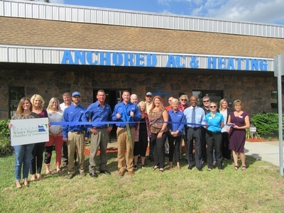 Anchored AC ribbon cutting