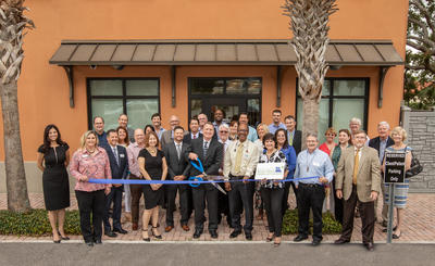 Bank of Central Florida ribbon cutting